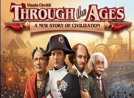 دانلود بازی Through the Ages در دورانهای مختلف برای اندروید