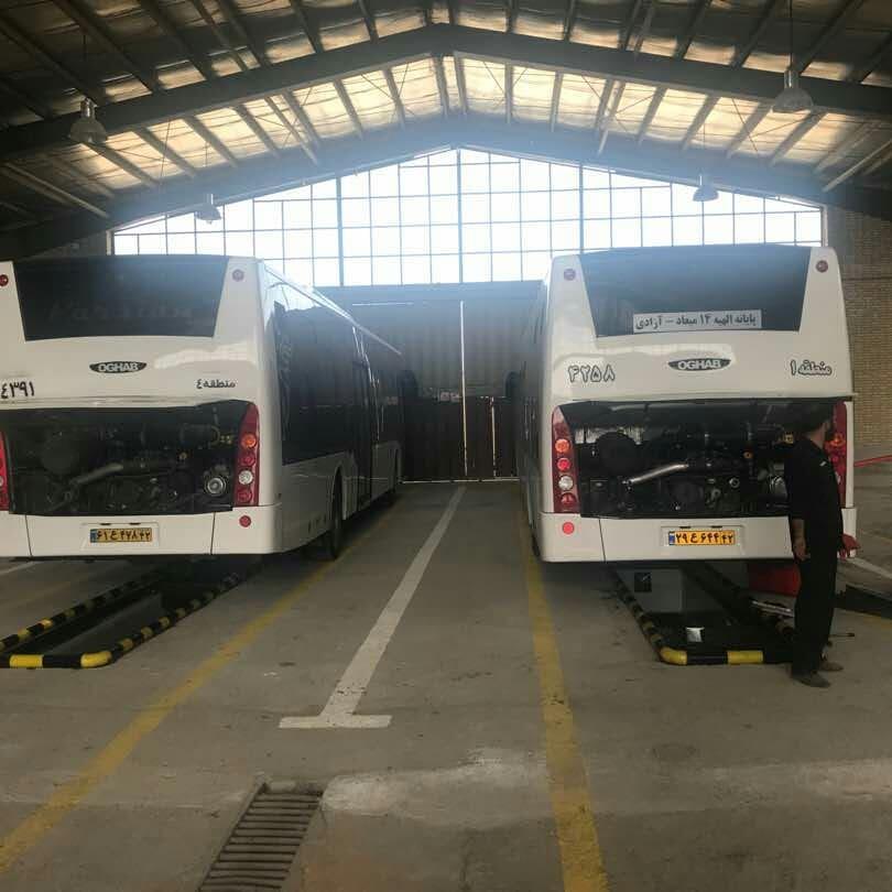 اتوبوس های پارسیان جدید یورو 4