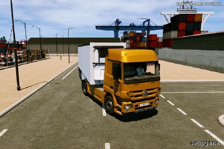 بازی Truck Driver در سبک شبیه ساز رانندگی کامیون معرفی شد