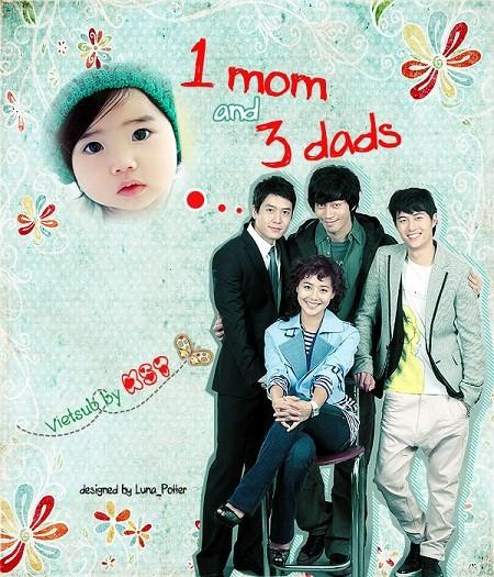 دانلود سریال کره ای One Mom and Three Dads با زیرنویس فارسی