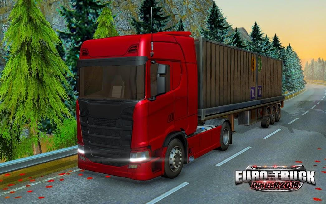 دانلود Euro Truck Driver 2018 1.9.2 - بازی شبیه سازی رانندگی کامیون 2018 برای اندروید و iOS + مود + دیتا