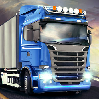 دانلود Euro Truck Driver 2018 2.12 - بازی شبیه سازی رانندگی کامیون 2018 برای اندروید و iOS + مود + دیتا