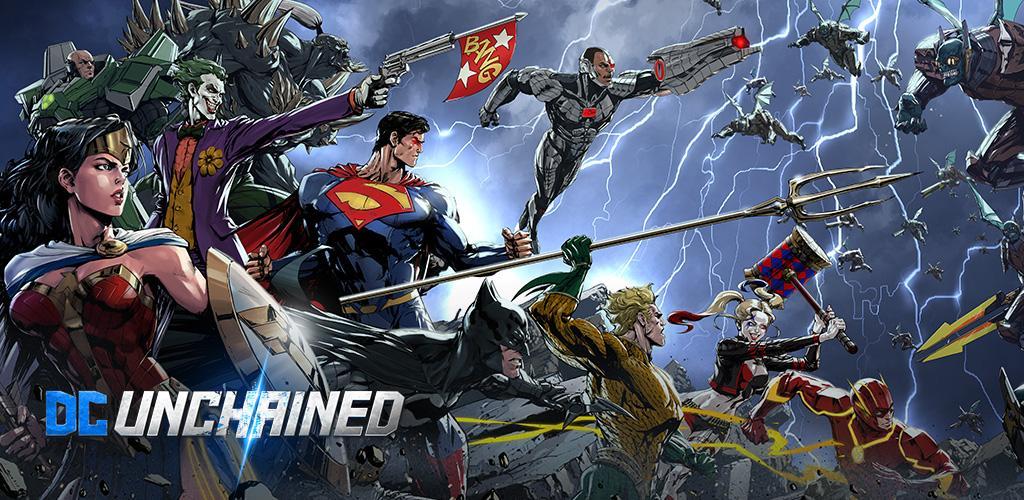 دانلود DC UNCHAINED - بازی اکشن قهرمانان دی سی برای اندروید و آی او اس + دیتا
