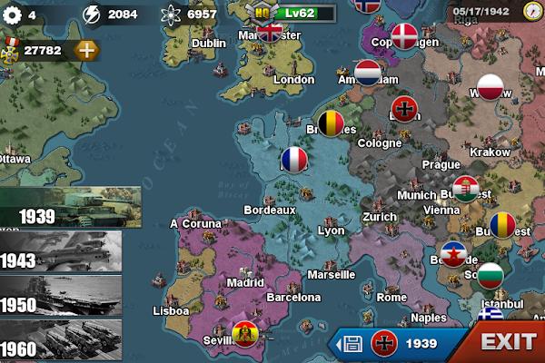 دانلود World Conqueror 3 1.2.9 - بازی استراتژیک فاتح جهان 3 برای اندروید و ویندوز فون + مود