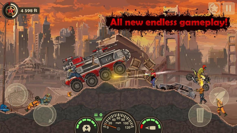 دانلود Earn to Die 3 1.0.4 - بازی اکشن وحشتناک نبرد تا آخرین لحظه 3 برای اندروید + مود