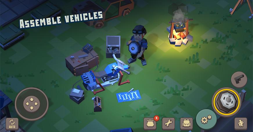 دانلود Cube Survival: LDoE 1.0.1 - بازی اکشن و وحشتناک مکعب بقا برای اندروید + مود + دیتا