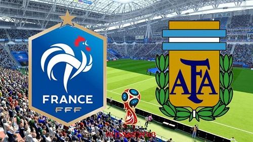 نتیجه بازی آرژانتین و فرانسه 9 تیر 97 + فیلم خلاصه و گلها