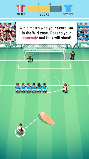 دانلود Tiny Striker: World Football 1.3.5 - بازی جهان فوتبالیت های کوچک برای اندروید و آی او اس