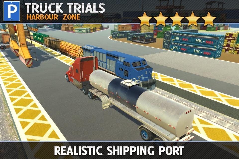 دانلود Truck Trials: Harbour Zone 1.1 - بازی رانندگی کامیون در مناطق بندری برای اندروید