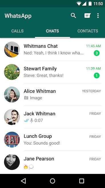 دانلود WhatsApp Messenger 2.18.280 - آخرین نسخه برنامه واتساب برای اندروید, آی او اس و ویندوز