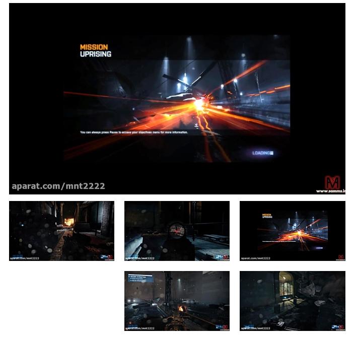 بتلفیلد3 مرحله 3(Battlefield 3 Mission 3-PC)