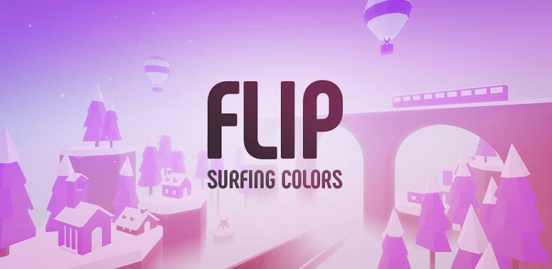 دانلود Flip : Surfing Colors - بازی آرکید جسور: مجسوار رنگ ها برای اندروید و آی او اس + مود