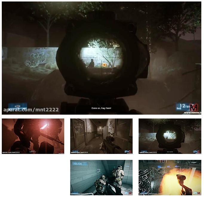 بتلفیلد3 مرحله 5(Battlefield 3 Mission 5-PC)