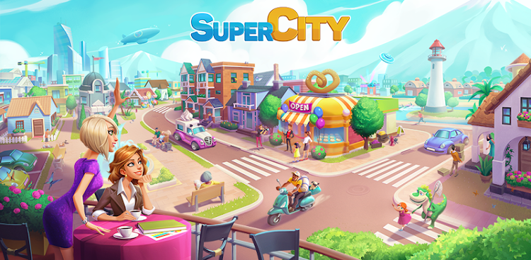 دانلود SuperCity: Build a Story - بازی سوپر سیتی برای اندروید و آی او اس + دیتا
