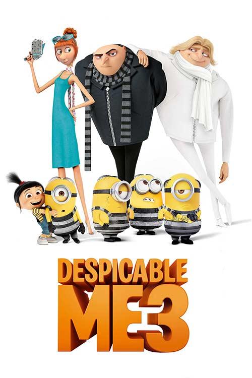 دانلود فیلم Despicable Me 3 2017 با لینک مستقیم