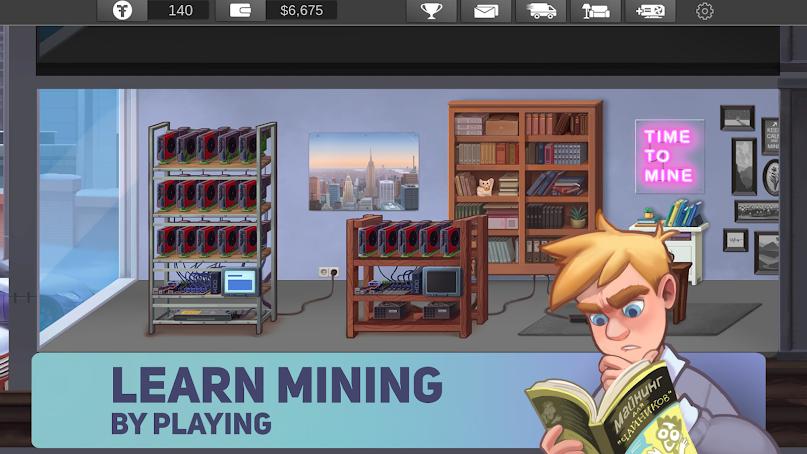 دانلود Blockchain: Miners' Fever 1.0.85 - بازی بلاک چین: تب معدن کاوی برای اندروید و آی او اس
