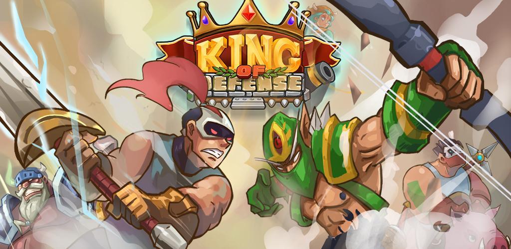 دانلود King of Defense_The Last Defender - بازی استراتژی پادشاه دفاع_آخرین مدافع اندروید + مود