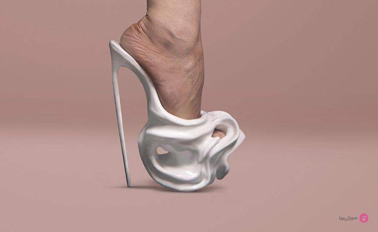 کفش های مجلسی عجیب