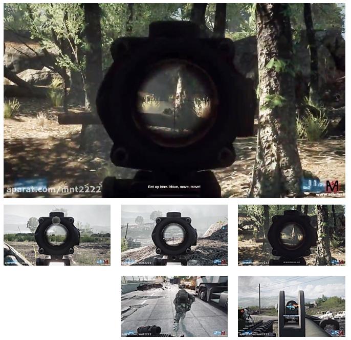 بتلفیلد3 مرحله 10(Battlefield 3 Mission 10-PC)