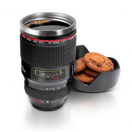 فروش لیوان با طرح لنز دوربین عکاسی - ماگ طرح لنز
