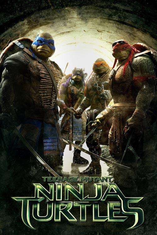 دانلود فیلم Ninja Turtles 2014 با کیفیت بالا
