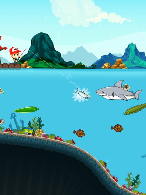 دانلود Fishing Break 2.13.7 - بازی آرکید ماهیگری برای اندروید و آی او اس + مود