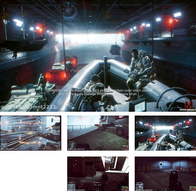 بتلفیلد4 مرحله 5(Battlefield 4 Mission 5-PC)