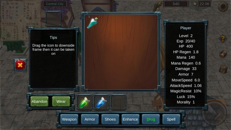 دانلود The Legend of Faty 2.2 - بازی نقش آفرینی افسانه فتی برای اندروید و آی او اس + دیتا