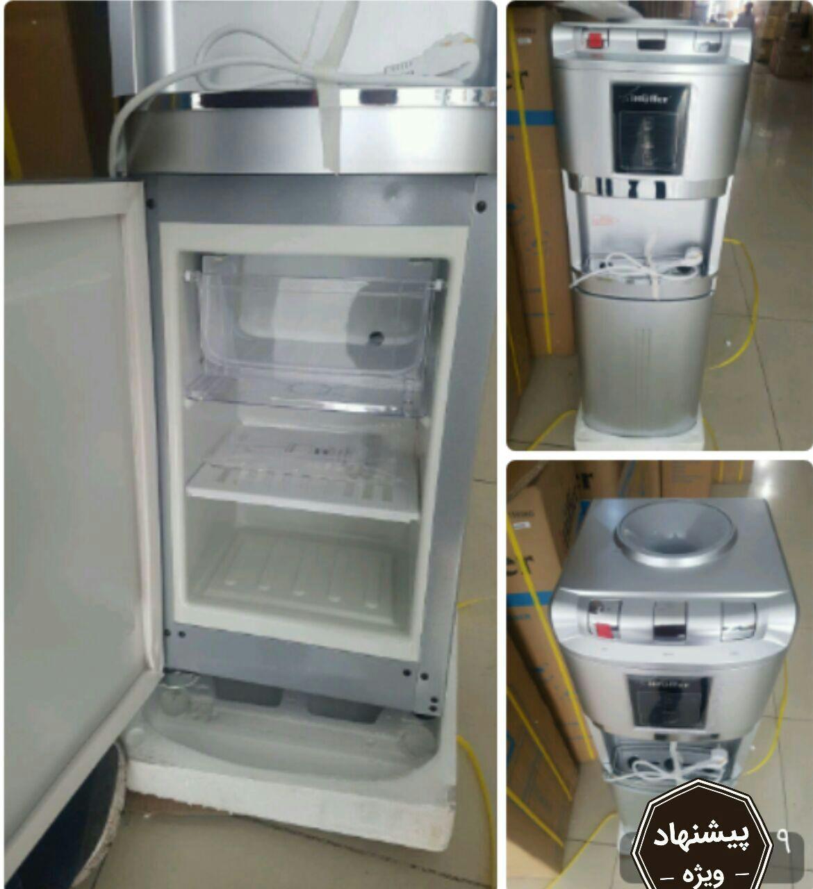 آبسرد کن Ihuffer آی هوفر  ۳ شیر مجهز به یخچال و جایخی