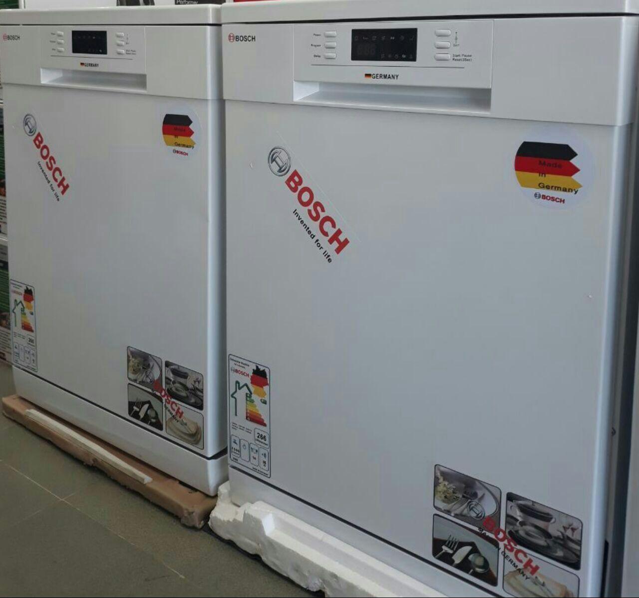 ماشین ظرفشویی 14 نفره بوش با نمایشگر دیجیتالی و برنامه متنوع شستشو