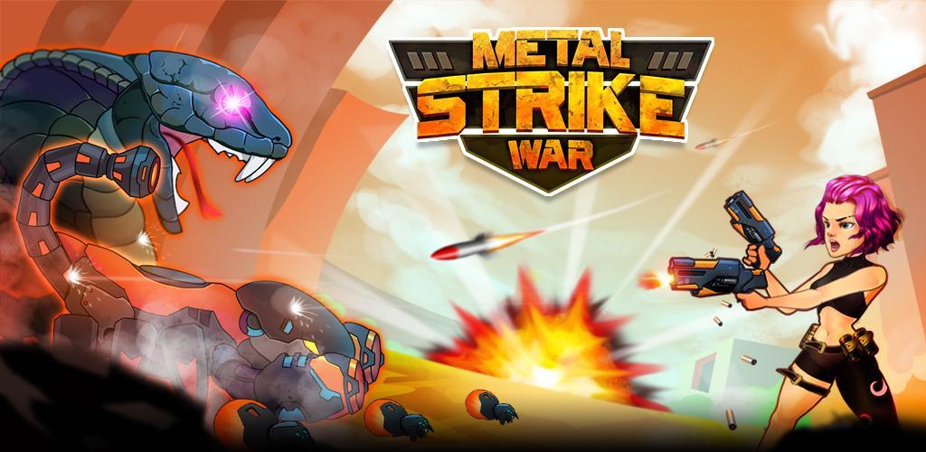 دانلود Metal Strike War: Gun Solider Shooting Games - بازی تیراندازی جنگ فلزی اندروید + مود