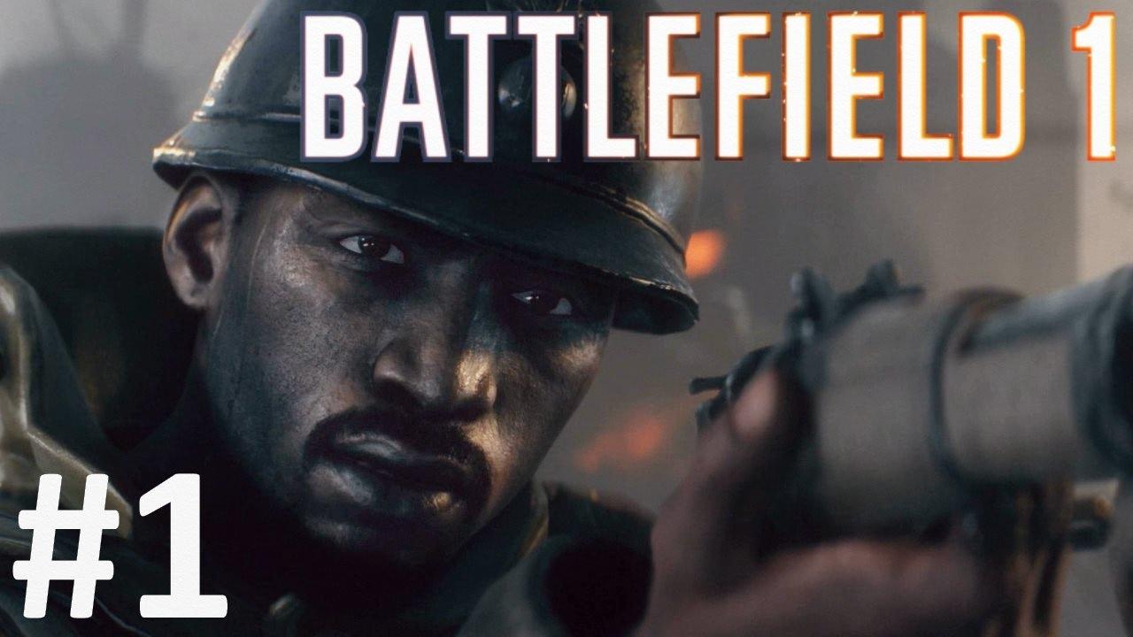 گیم پلی بازی بتلفیلد 1 مرحله 1- Battlefield 1 Gameplay