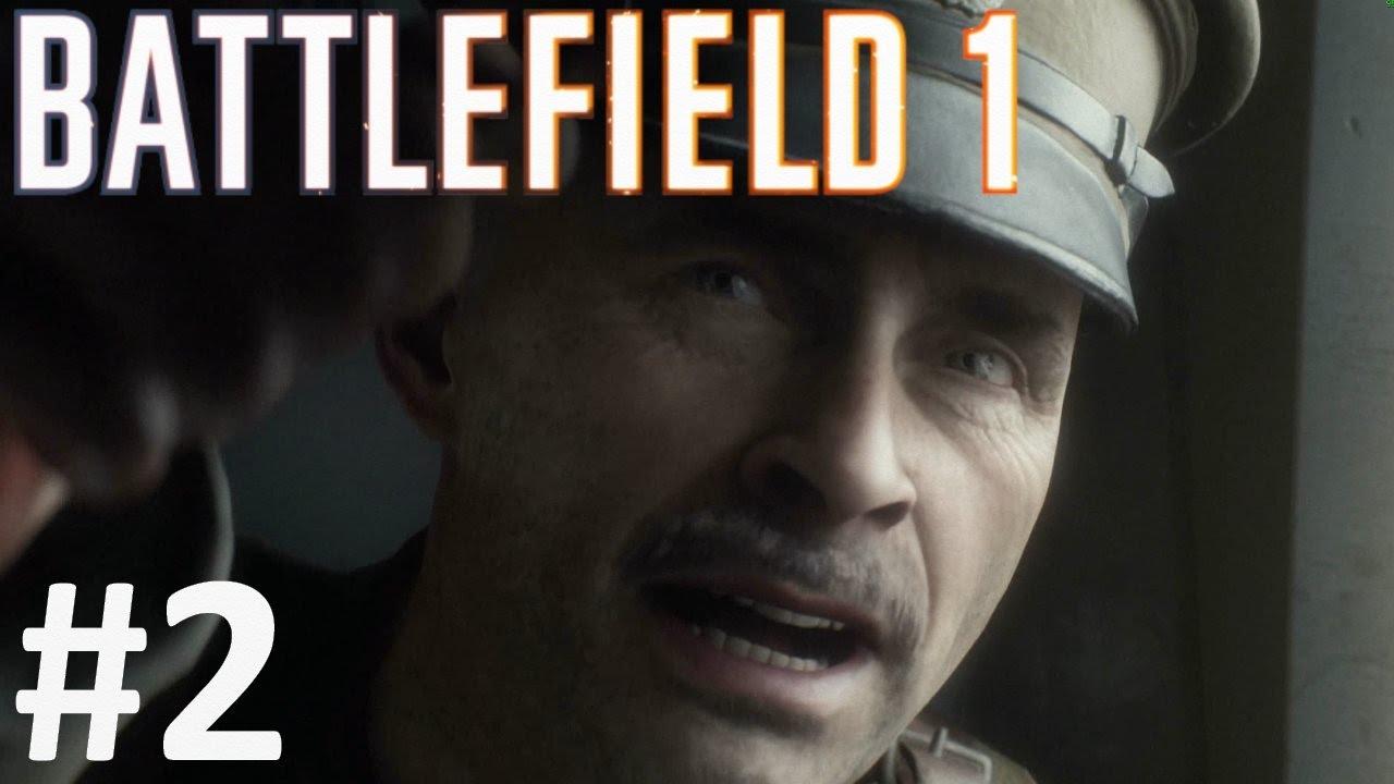 گیم پلی بازی بتلفیلد 1 مرحله 2 - Battlefield 1 Gameplay