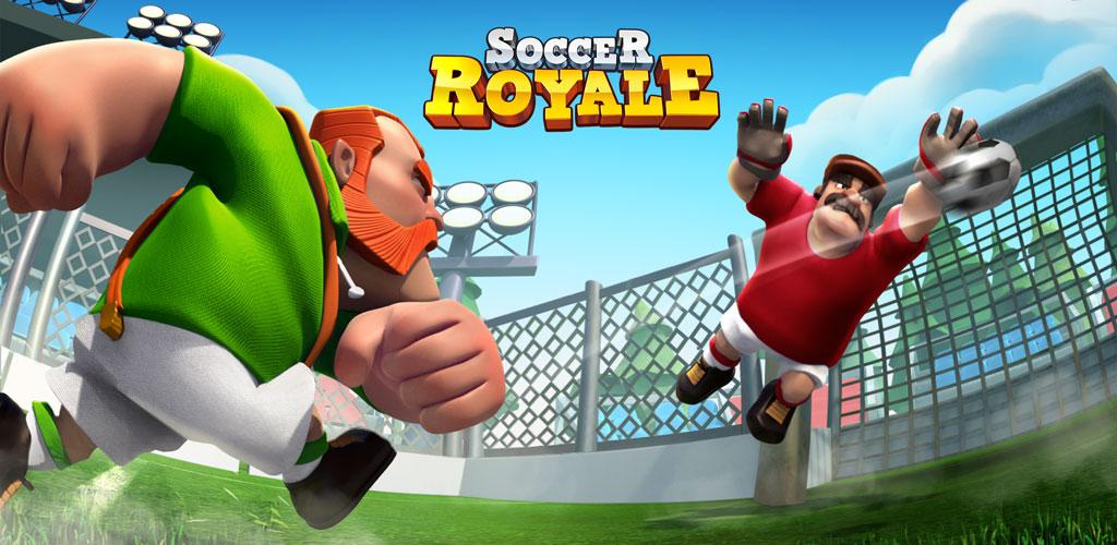 دانلود Soccer Royale 2018, the ultimate football clash! - بازی ساکر رویال 2018 برای اندروید