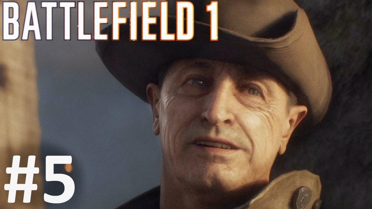 گیم پلی بازی بتلفیلد 1 مرحله 5 - Battlefield 1 Gameplay