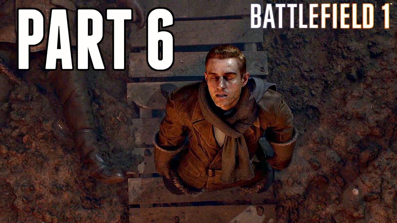 گیم پلی بازی بتلفیلد 1 مرحله 6 - Battlefield 1 Gameplay