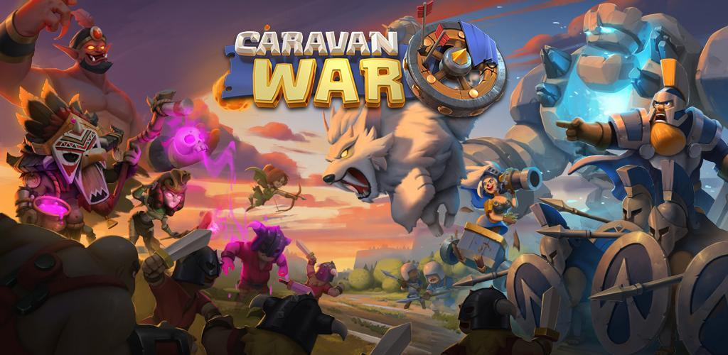 دانلود Caravan War: Heroes and Tower Defense - بازی استراتژی جنگ کاروان ها اندروید و iOS