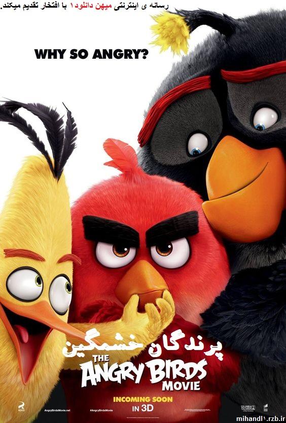 دانلود انیمیشن پرندگان خشمگین Angry Birds 2016 با دوبله فارسی
