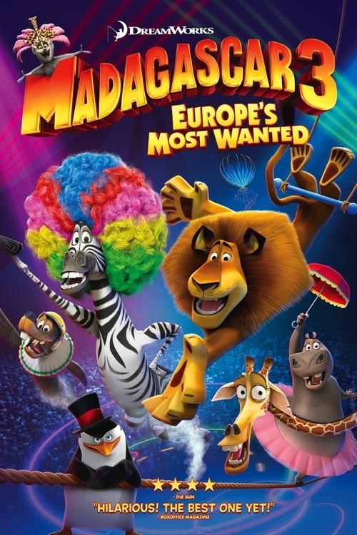 دانلود انیمیشن ماداگاسکار 3 با دوبله فارسی