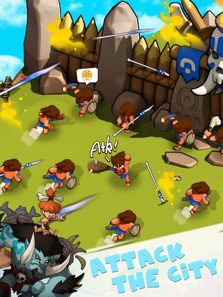 دانلود Tribes Age:Rise of Caveman 1.2.4 - بازی عصر قبایل : ظهور غارنشینی برای اندروید + دیتا