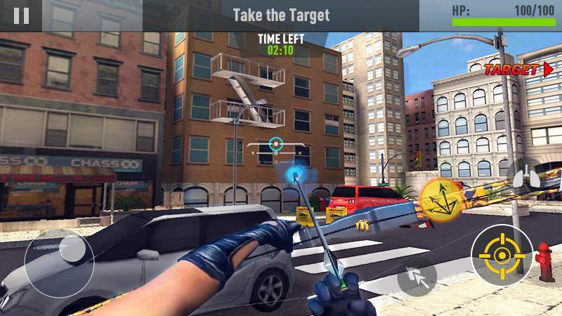 دانلود Assassin Archer - Modern Day Robin Hood 1.2.1 - بازی اکشن قاتل تیرانداز برای اندروید