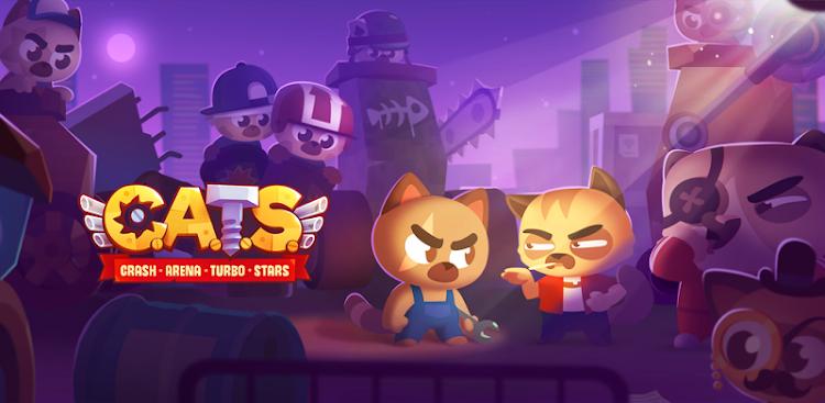 دانلود CATS : Crash Arena Turbo Stars - گربه ها : گربه های زرنگ , آماده جنگ برای اندروید