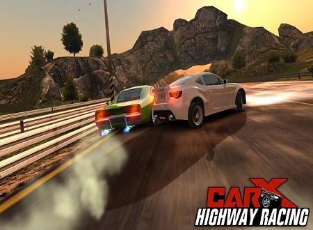 دانلود بازی CarX Highway Racing مسابقات ماشین سواری در بزرگراه ها برای اندروید