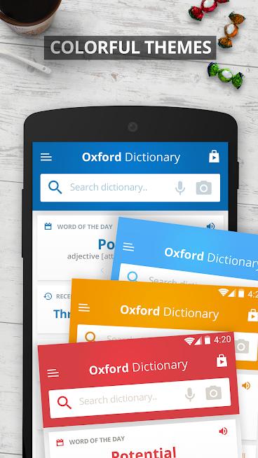 دانلود Oxford Dictionary of English Pro 9.1.364 - دیکشنری انگلیسی آکسفورد برای اندروید + دیتا