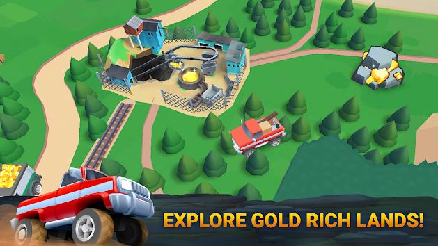 دانلود Planet Gold Rush 1.9.80 - بازی حجوم به سیاره طلا برای اندروید و آی او اس