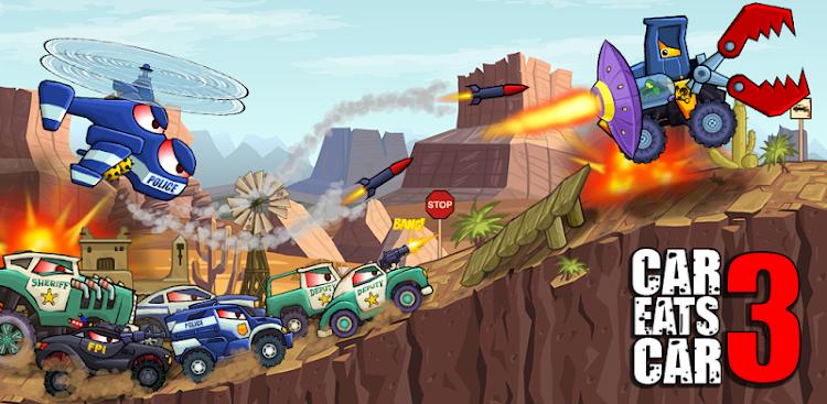 دانلود Car Eats Car 3 - بازی ماشین خوار 3 برای اندروید و آی او اس + مود