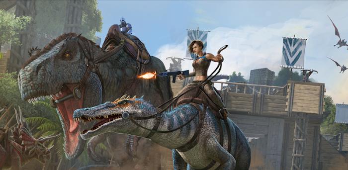 ARK: Survival Evolved - بازی ماجراجویی بقا در جزیره آرک برای اندروید و آی او اس + دیتا