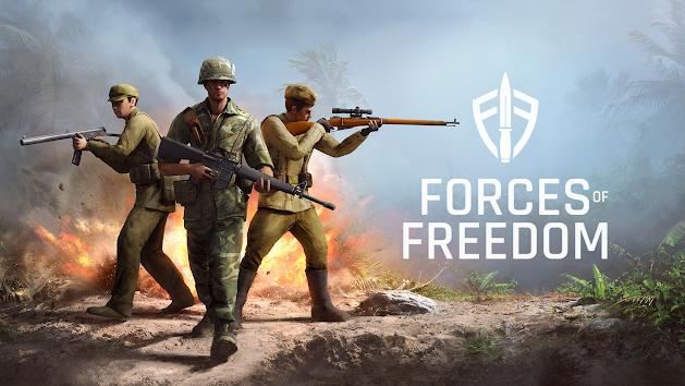 دانلود Forces of Freedom - بازی اکشن نیروهای آزدیخواه برای اندروید + دیتا