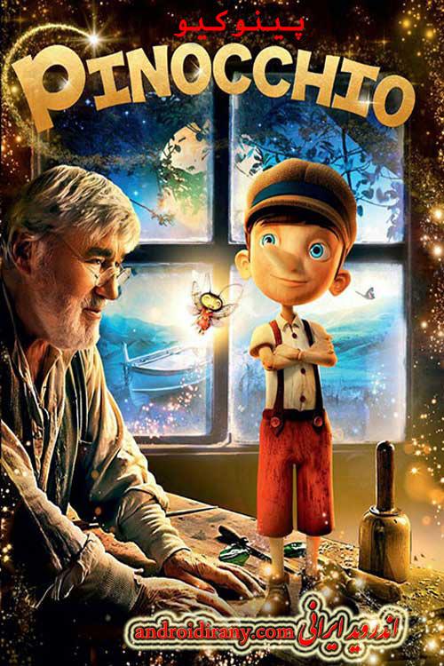 دانلود دوبله فارسی پینوکیو Pinocchio 2015