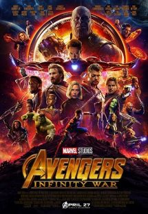 دانلود زیرنویس فارسی فیلم Avengers 3 : Infinity War 2018